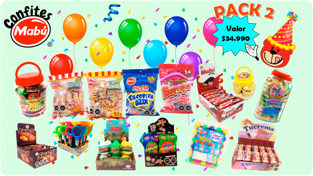 pack cumpleaños 2