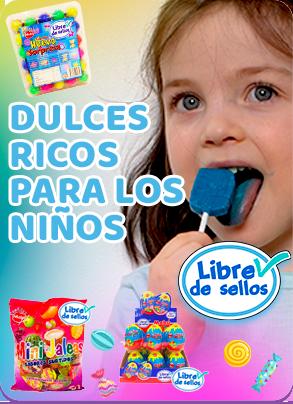 Dulces ricos para los niños